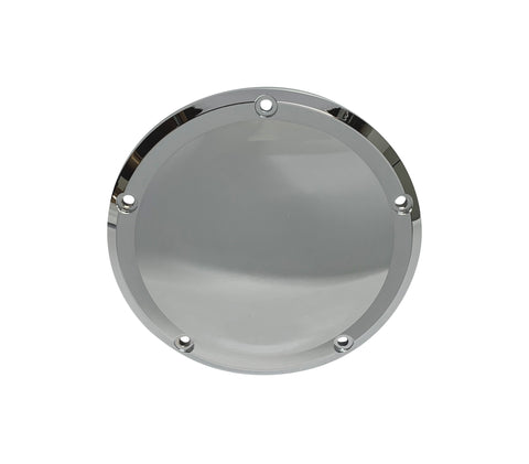#203861 Milwaukee-Eight, Derby Cover, Smooth Chrome