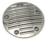 #203910 Point Cover, 5-Hole, Millennium, B-Milled,Chrome, Twin Cam, 99-2017