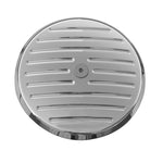 #203960 Pro-One Billet Air Cleaner Cover, 99-2017 Twin Cam Ball-Milled, Chrome