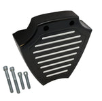 #204590B Coil Cover, Billet, Ball Milled, Black