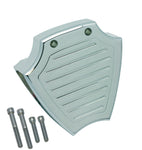 #204590 Coil Cover, Chrome Billet, Ball Milled