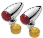 #400350 Turn Signal, Chrome Bullet, Smooth, Pair