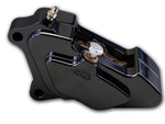 #602200B Billet Caliper, Front Left, 4-Piston, Black, 00-07