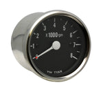 #903959 Replacement Tach, Black Face, Suzuki C50 & C90 with F.I.