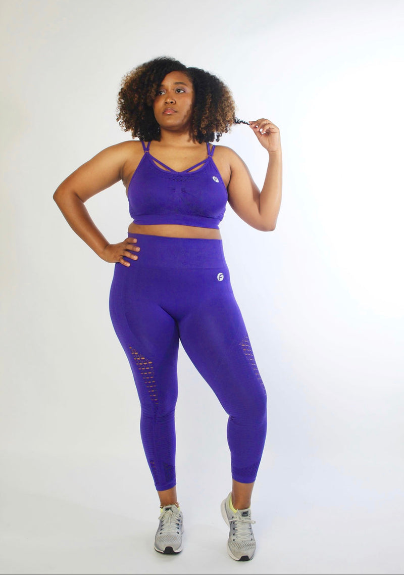 Simply Seamless Legging - Purple Reign