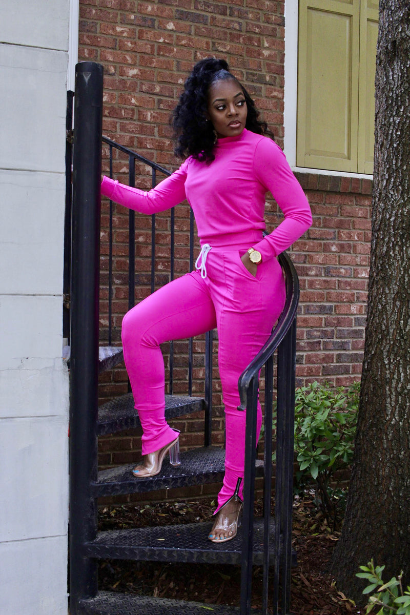 On The Run - Jogger (Pink)