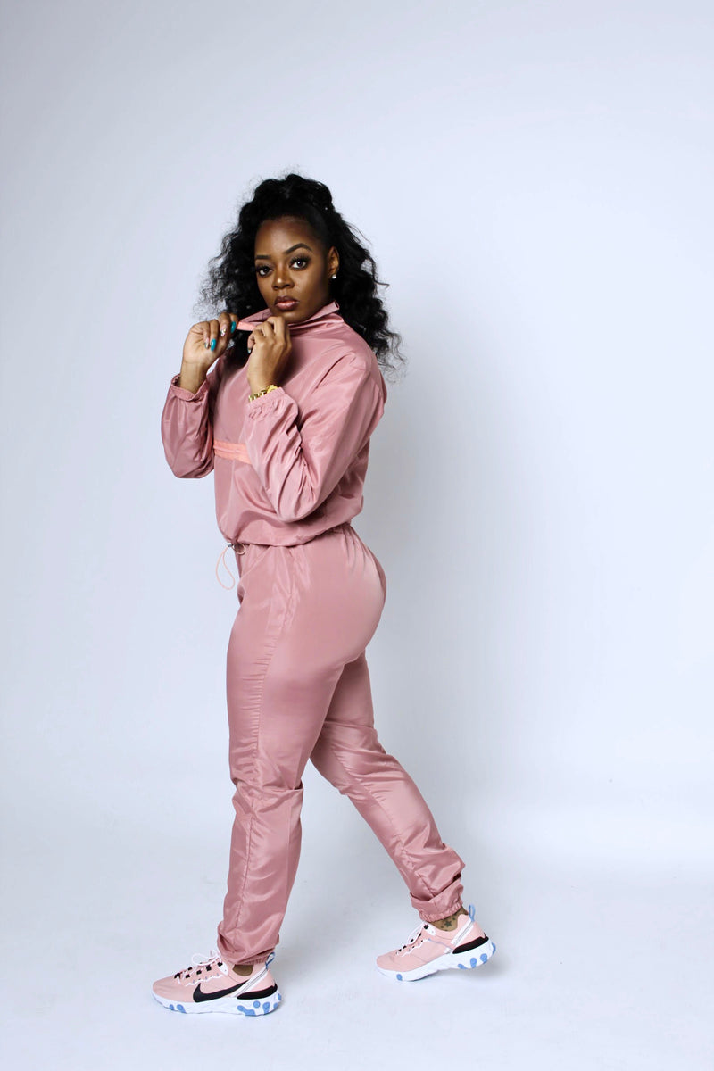Play Date Tracksuit (Dusty Rose)