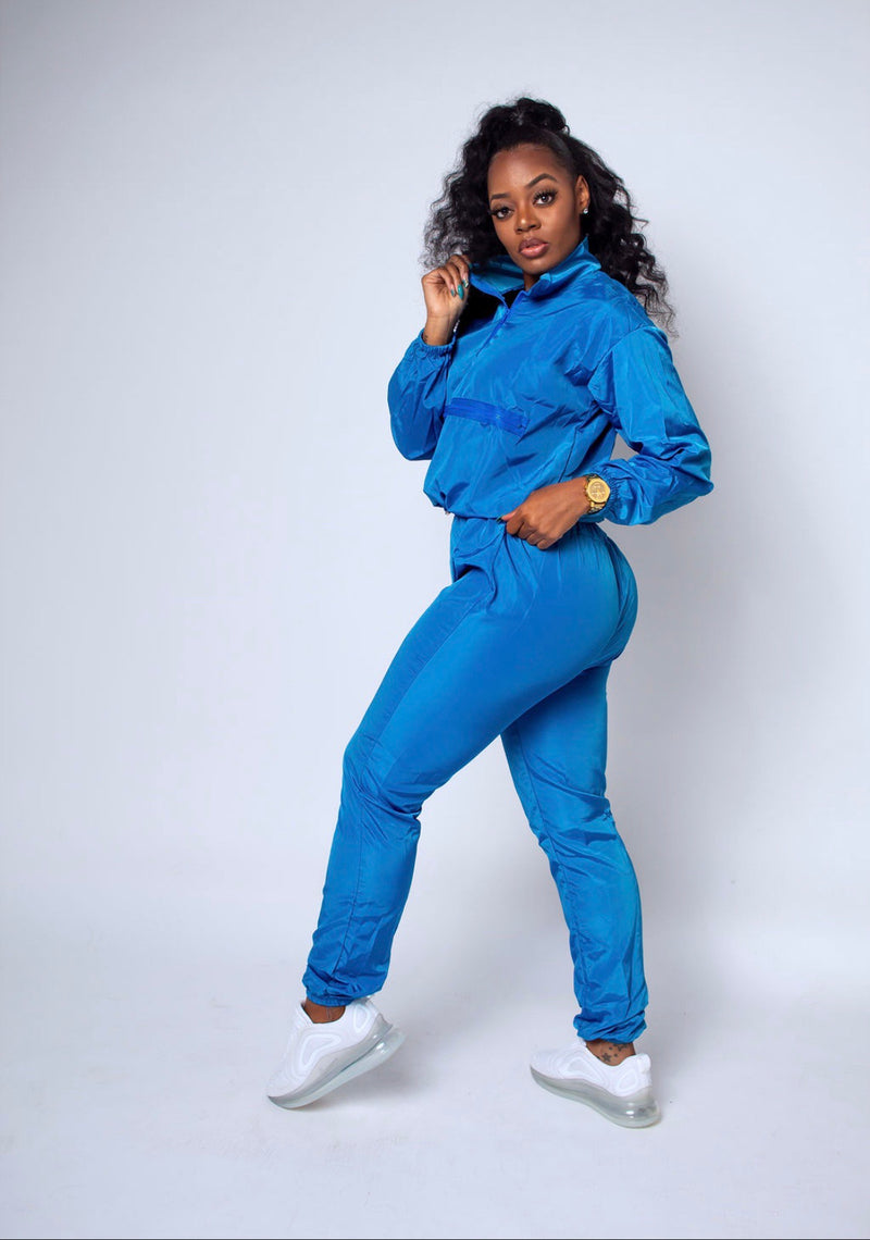 Play Date Tracksuit (Air Force Blue)