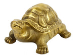 Antique Brass Tortoise Figurine Turtle Statue