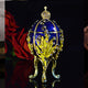 Metal Religious Mascot Decor Faberge Egg Home Decor Collection