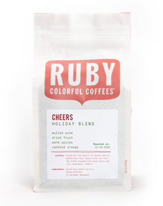 Cheers Holiday Blend Coffee