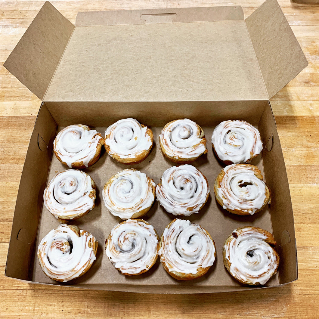 One Dozen Cinnamon Rolls