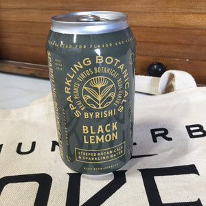 Black Lemon Botanical Sparkling Water