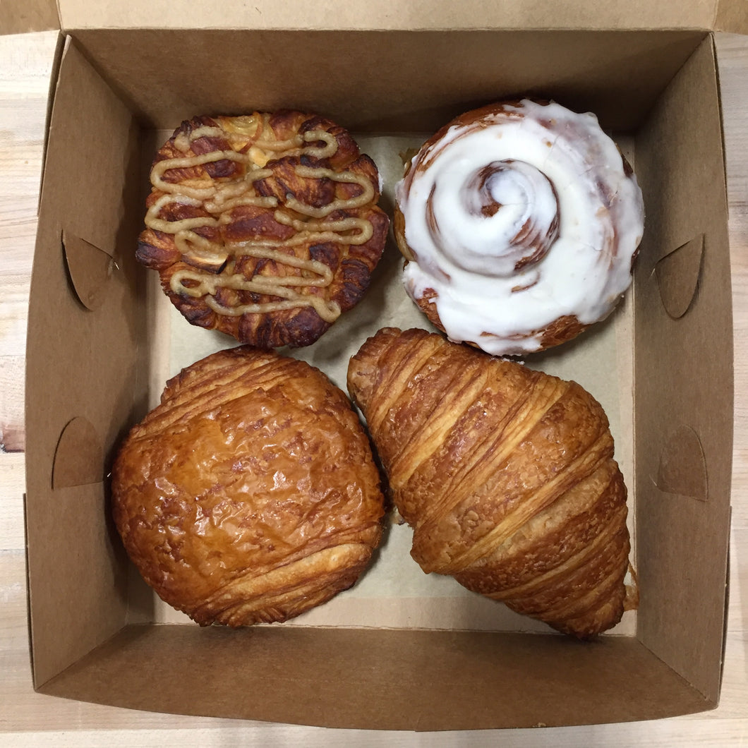 4 pack Mixed Pastries