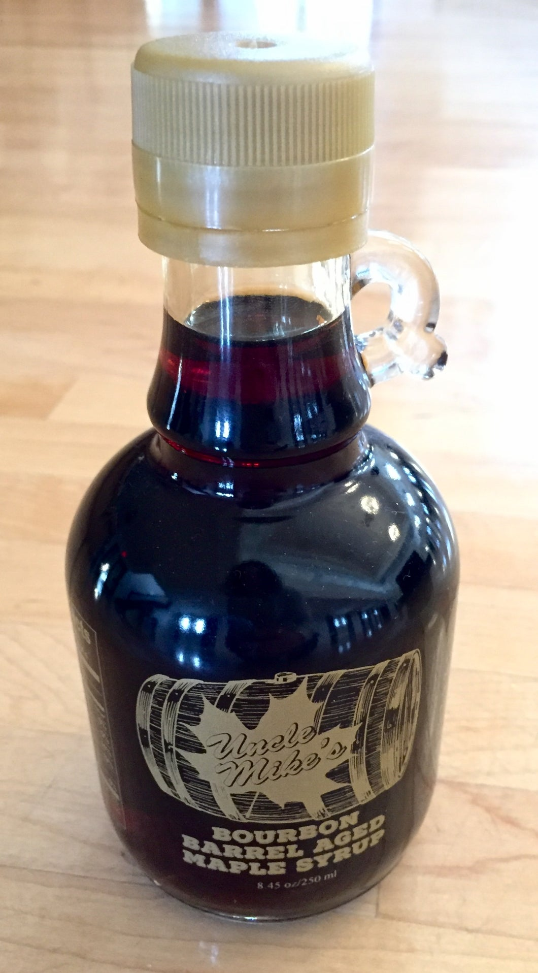 Uncle Mike's Bourbon Barrel Aged Syrup