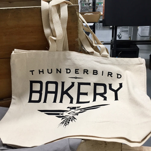 Thunderbird Bakery Canvas Tote