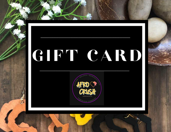 AfroCrush Perfect Gift Card