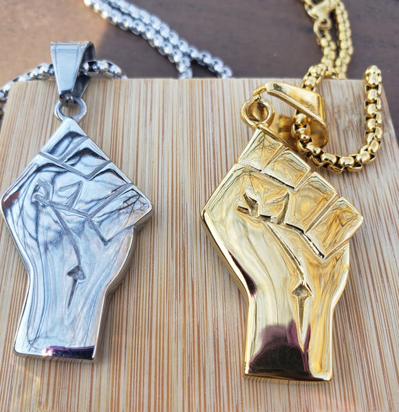 Power fist Necklace