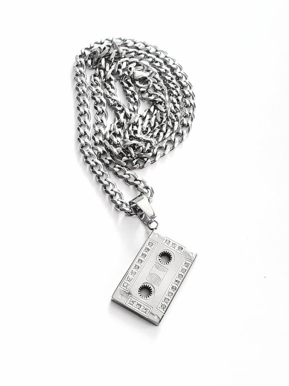 OG mixtape cassette necklace