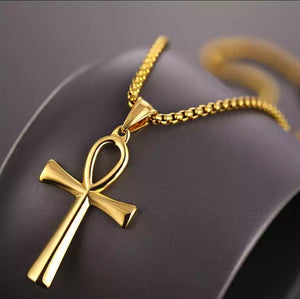 Ankh cross Pendant and Necklace