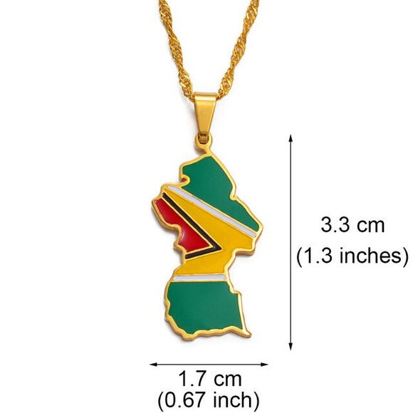 Guyana Pendant Necklaces
