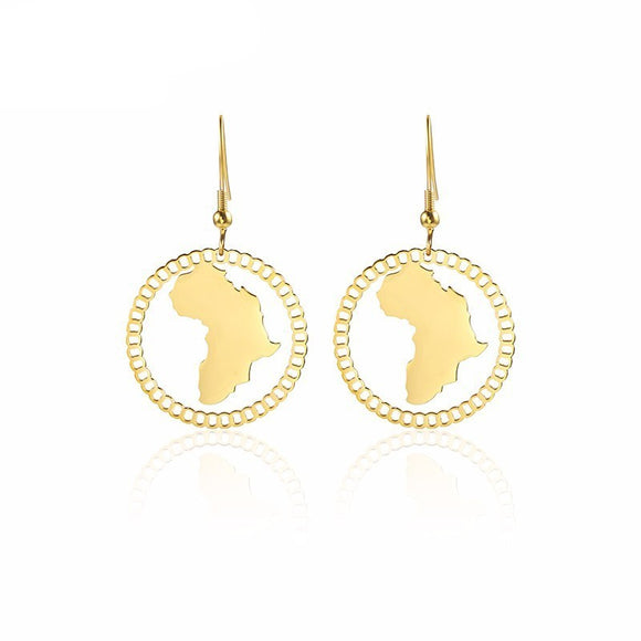 World of Africa Drop Earrings