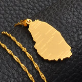 ST. Vincent Pendant Necklace
