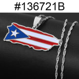 Puerto Rico Pendant Necklaces