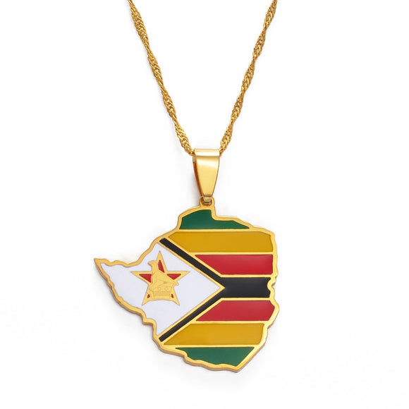 Zimbabwe Pendant Necklaces