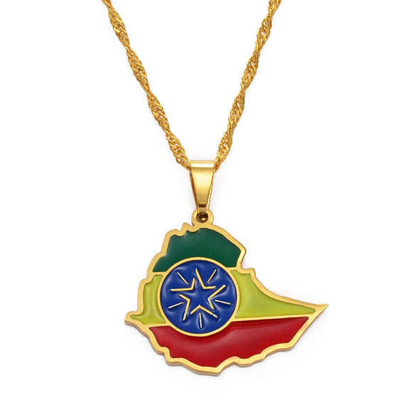Ethiopia Pendant Necklaces