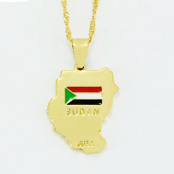 Sudan Pendant & Necklaces