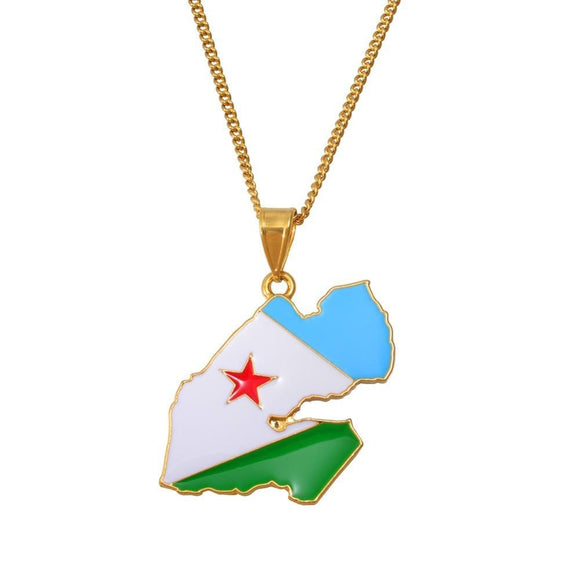 DJIBOUTI Pendant Necklaces f