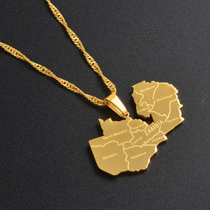 Zambia Pendant Necklaces