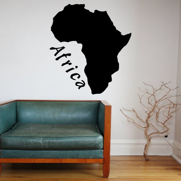 Wall stickers Africa Map