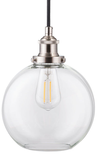 Primo Industrial Pendant Lamp with LED Bulb