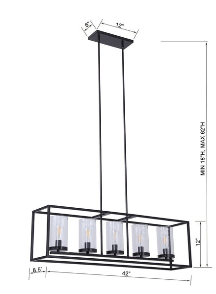 Verona Box Frame Chandelier