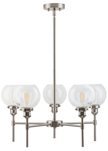 Primo Five Light Pendant Chandelier