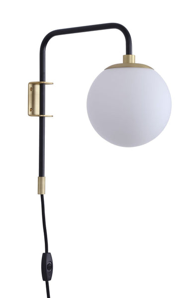 Caserti Plug-in Wall-Mounted Lamp