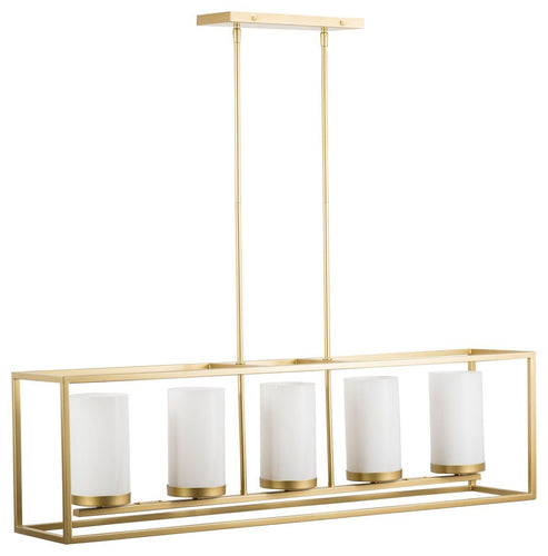 Verona Box Frame Chandelier (Houzz Exclusive)