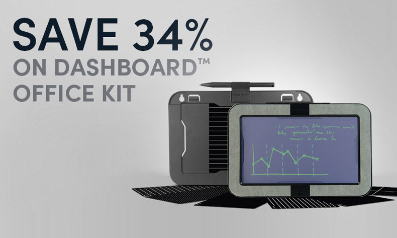 Save 34% on Dashboard Memo Board Office Kit