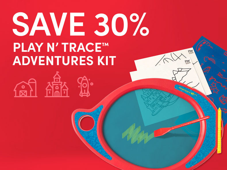 Save 30% on Play n' Trace Adventures Kit