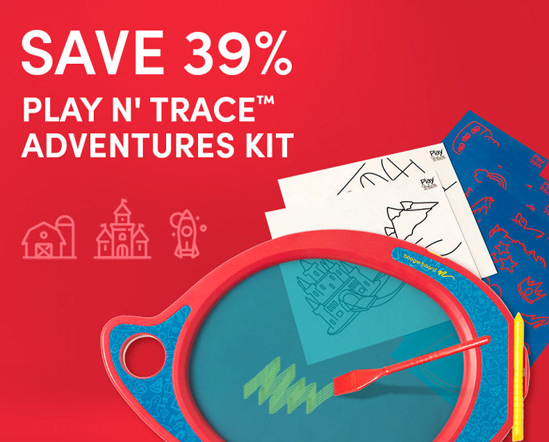 Save 39% on Play n' Trace Adventures Kit