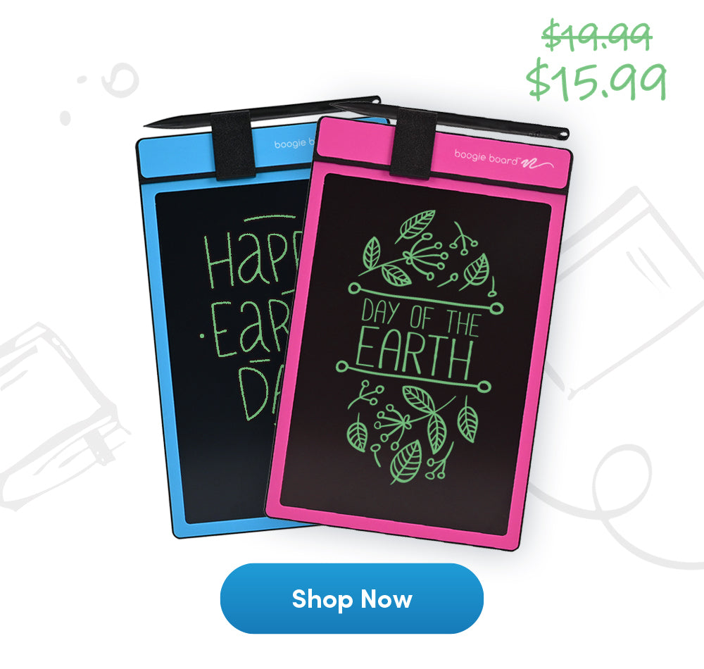 Instead of a Memo Pad, try Boogie Board Basics @20% OFF