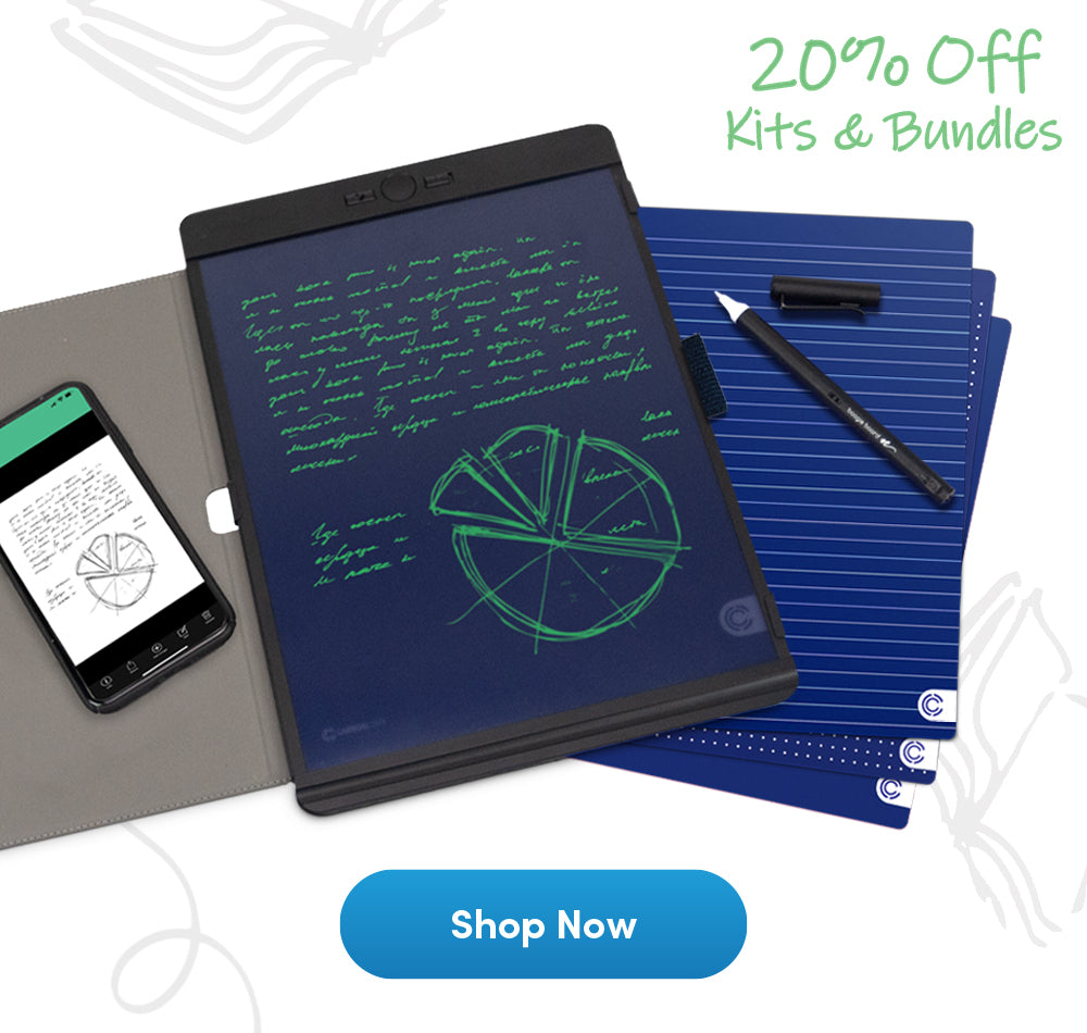 Instead of a notebook, try Carbon Copy™ - 20% OFF all Kits & Bundles