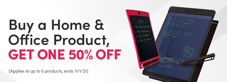 Buy a Home & Office Product, Get One 50% off