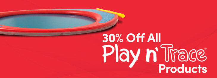30% off all Play n' Trace Products