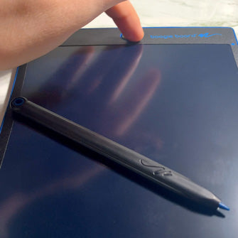 close up push button to erase Jot