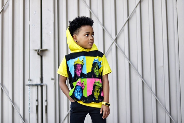 Notorious B.I.G. Biggie Smalls Neon Romper/Dress/Hoodie