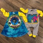 MTV Classic Logo Pop Culture Romper/Dress/Hoodie, Dress and Romper Examples