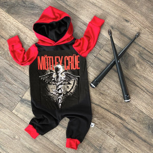 Motley Crue Heavy Metal Romper/Dress/Hoodie